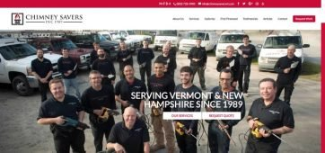chimney-savers-vermont-website-design-hedera
